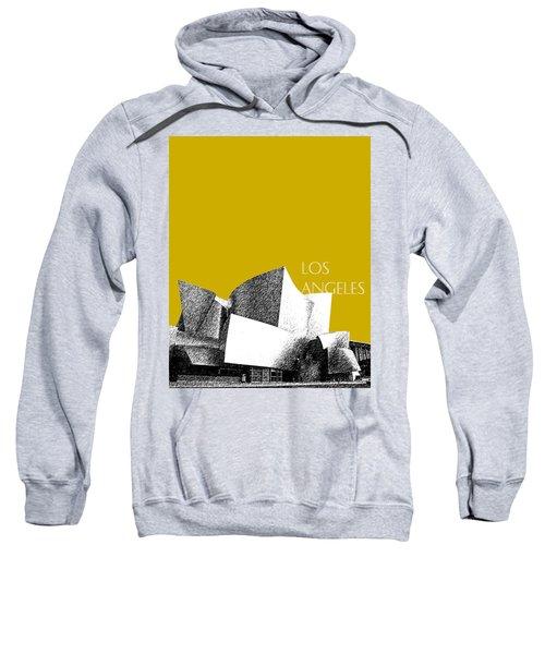Los Angeles Skyline Disney Theater - Gold Sweatshirt