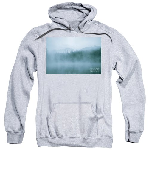 Lost In Fog Over Lake Sweatshirt