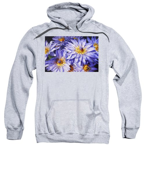 Lotus Light - Hawaiian Tropical Floral Sweatshirt