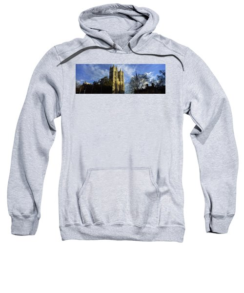 Low Angle View Of An Abbey, Westminster Sweatshirt