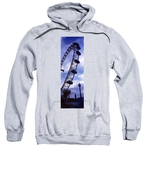 Low Angle View Of The London Eye, Big Sweatshirt by Panoramic Images