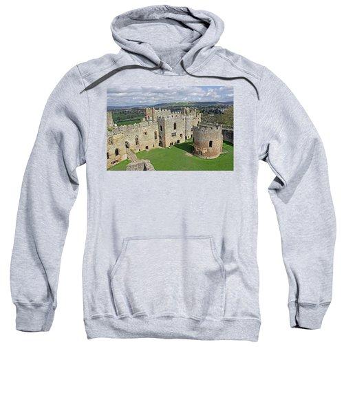 Ludlow Castle Chapel And Great Hall Sweatshirt