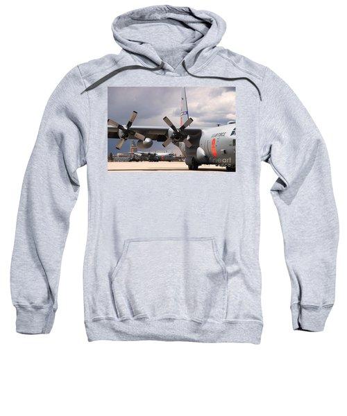 Maffs C-130s At Cheyenne Sweatshirt