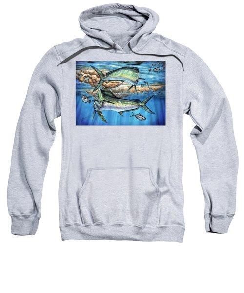 Magical Mahi Mahi Sargassum Sweatshirt