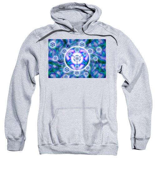 Magnetic Fluid Harmony Sweatshirt by Derek Gedney