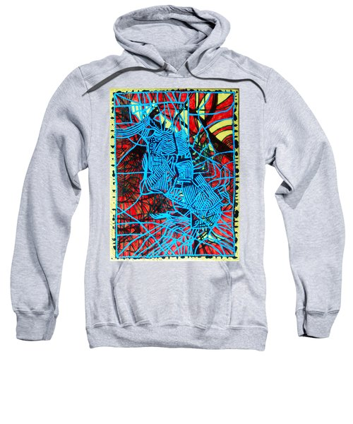 Maiden In Blue - Mary In The Temple Sweatshirt