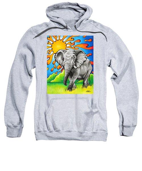 Majestic Elephant Sweatshirt