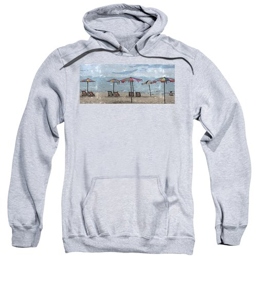 Malazy Day At The Beach Sweatshirt