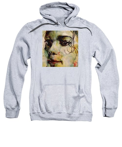 Man In The Mirror Sweatshirt by Paul Lovering