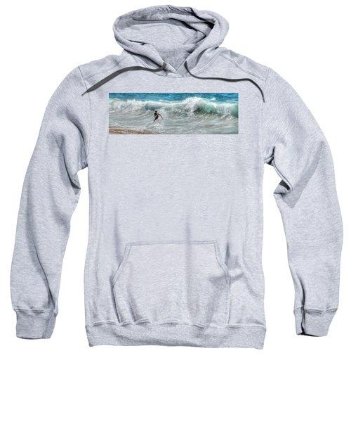 Man Vs Wave Sweatshirt