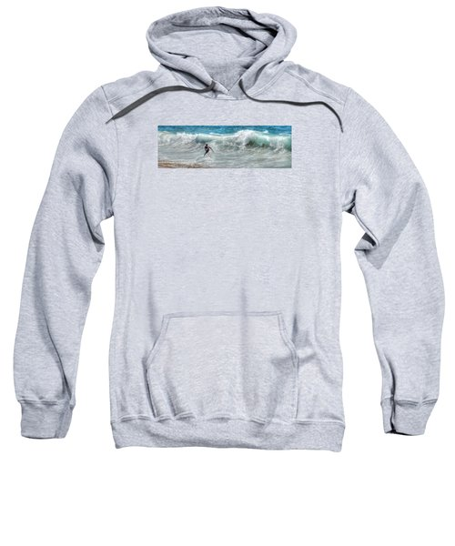 Man Vs Wave Sweatshirt