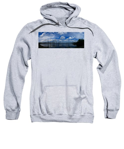 Manasquan Reservoir Panorama Sweatshirt