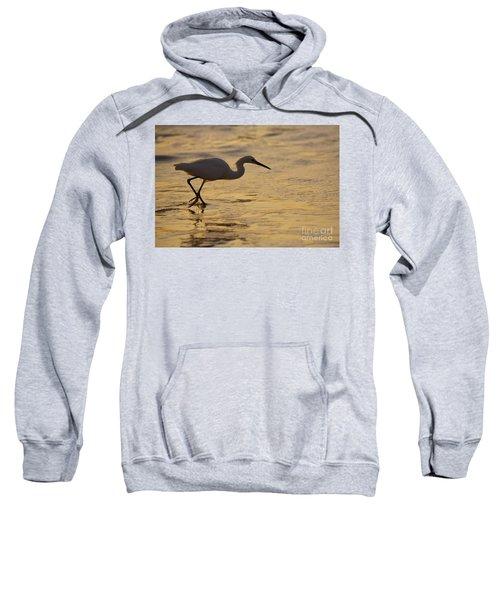 March Of The Egret Sweatshirt