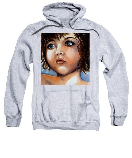 Crying Blue Eyes Sweatshirt