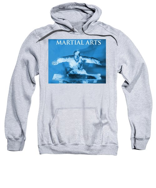Martial Arts Poster Sweatshirt