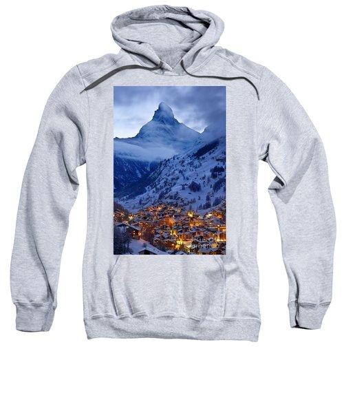 Matterhorn At Twilight Sweatshirt