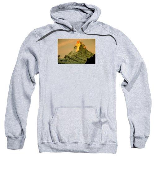 Matterhorn In Switzerland Sweatshirt