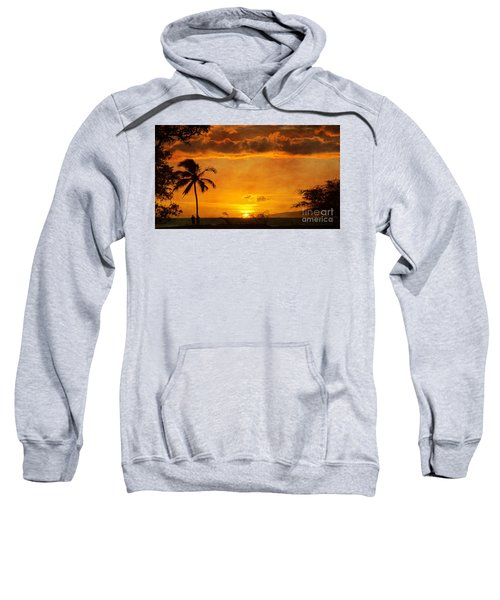 Maui Sunset Dream Sweatshirt by Peggy Hughes