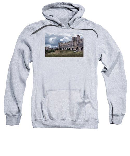 Medieval City Wall Defence Sweatshirt