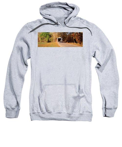 Melcher Covered Bridge Parke Co In Usa Sweatshirt