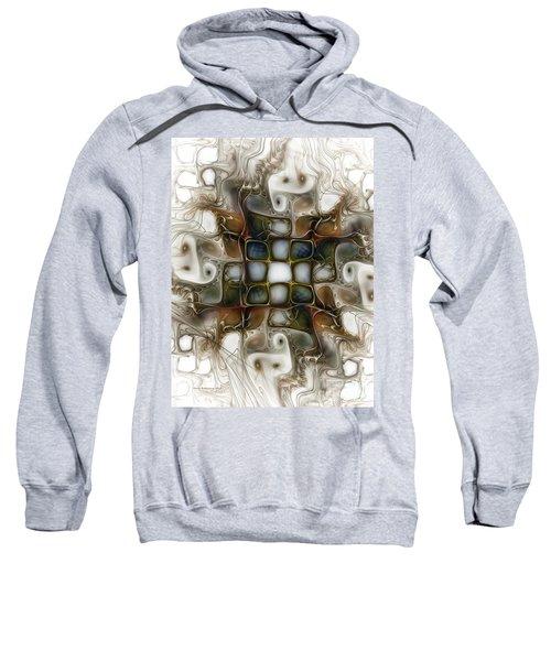 Memory Boxes-fractal Art Sweatshirt