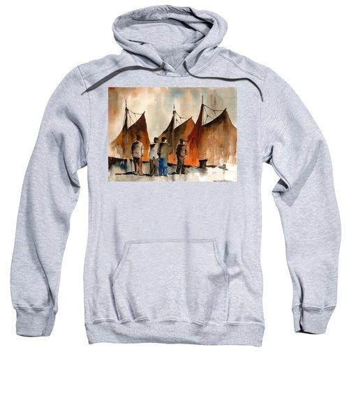 Men Looking At Hookers  Galway Sweatshirt