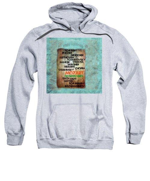 Men Who Found The Music Sweatshirt