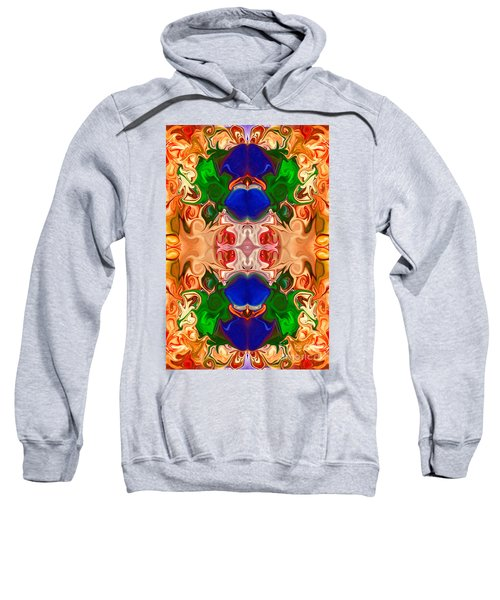 Merging Consciousness With Abstract Artwork By Omaste Witkowski  Sweatshirt