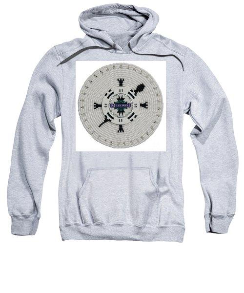 Meskwaki White Sweatshirt