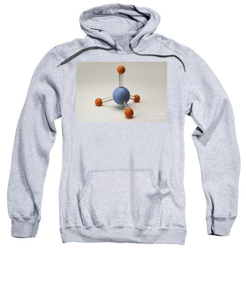 Methane Molecule Sweatshirt