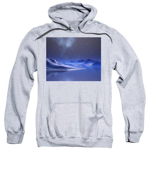 Midnight Snow Sweatshirt
