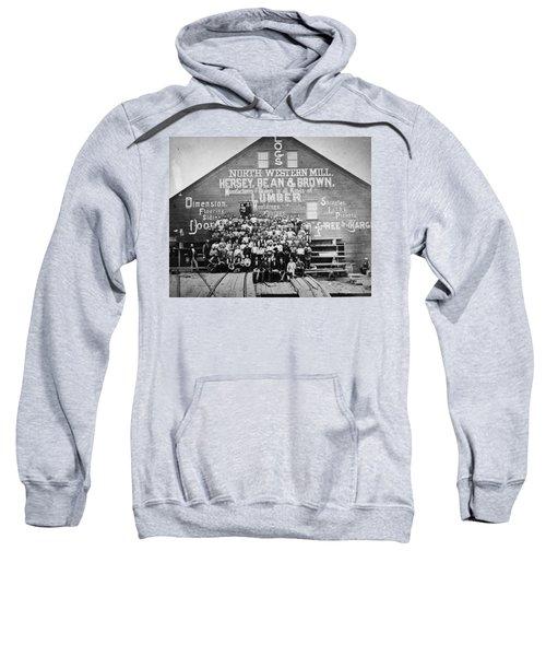 Minnesota Sawmill, 1870 Sweatshirt