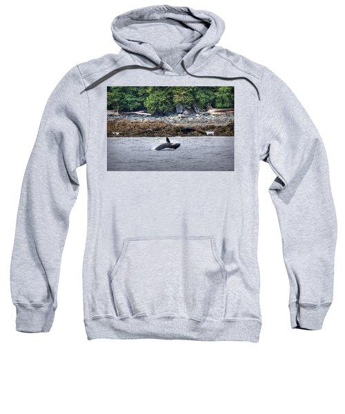 Misty Fjords Orca Sweatshirt