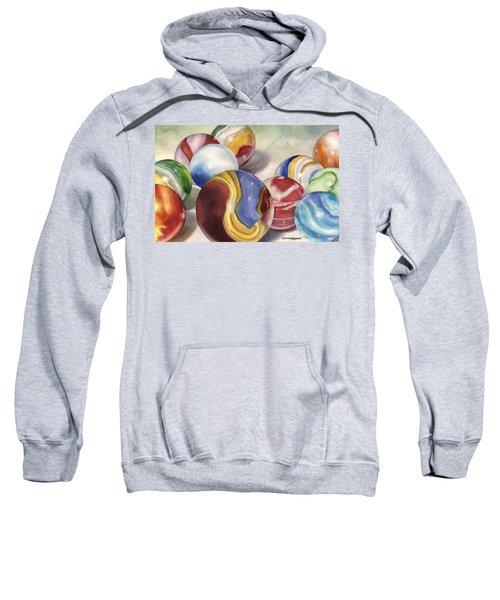 Mom's Marble Shooter Sweatshirt