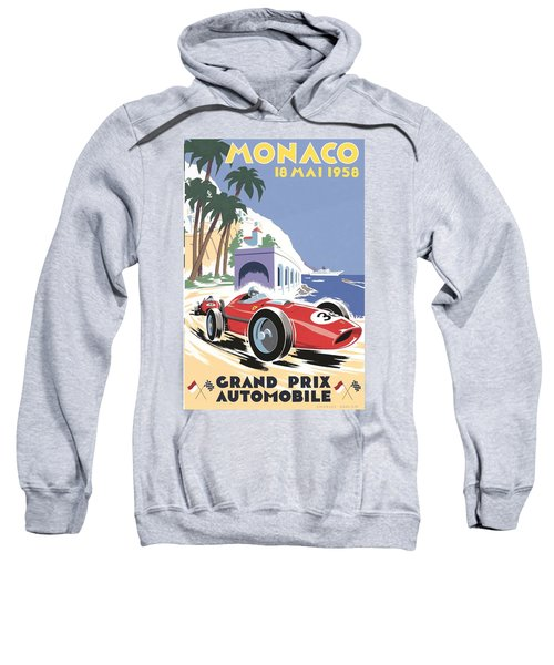 Monaco Grand Prix 1958 Sweatshirt