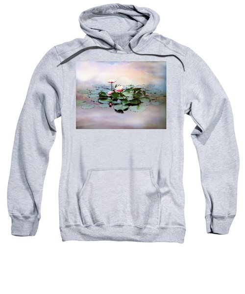 Monet Lilies  Sweatshirt