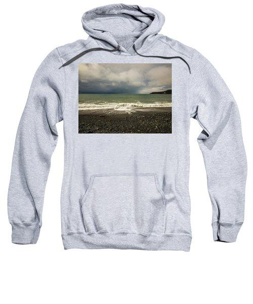 Moody Swirl French Beach Sweatshirt