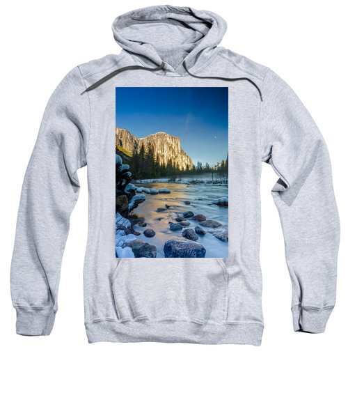 Moon Over El Capitan Sweatshirt