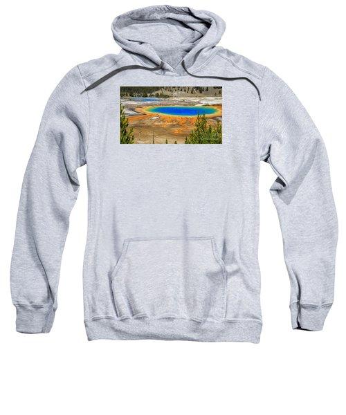 Grand Prismatic Geyser Yellowstone National Park Sweatshirt