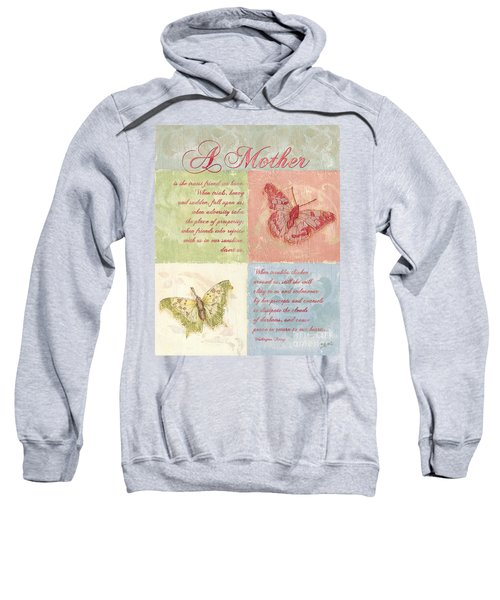 Mother's Day Butterfly Card Sweatshirt