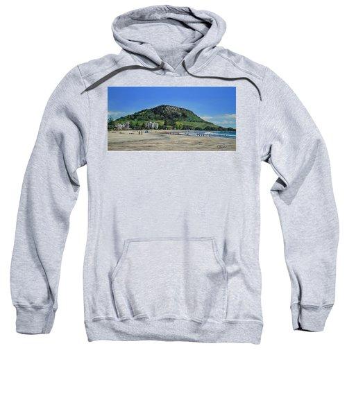 Mount Maunganui Beach 151209 Sweatshirt
