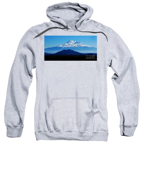 Mount Shasta Rising Like A Ghost Sweatshirt