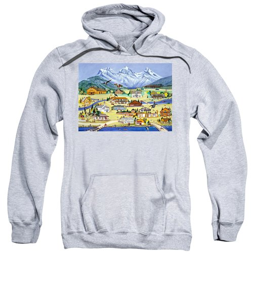 Mountain Town Of Canmore Sweatshirt