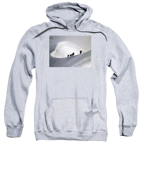 Mountaineers To Conquer Mont Blanc Sweatshirt