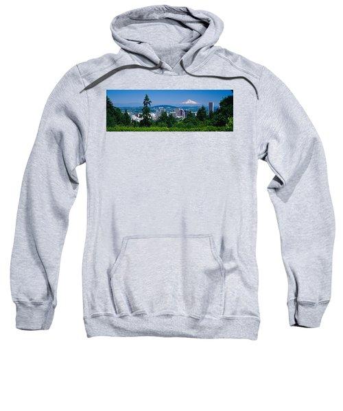 Mt Hood Portland Oregon Usa Sweatshirt