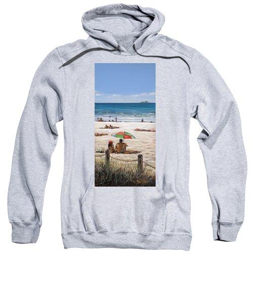 Mt Maunganui Beach 090209 Sweatshirt