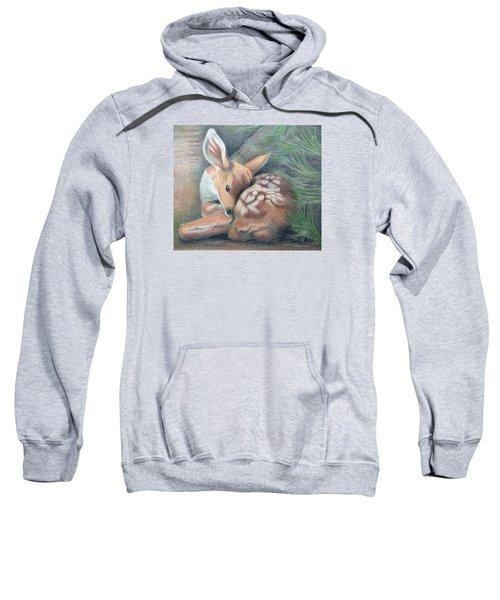 Mule Deer Fawn Sweatshirt
