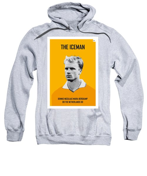 My Bergkamp Soccer Legend Poster Sweatshirt by Chungkong Art