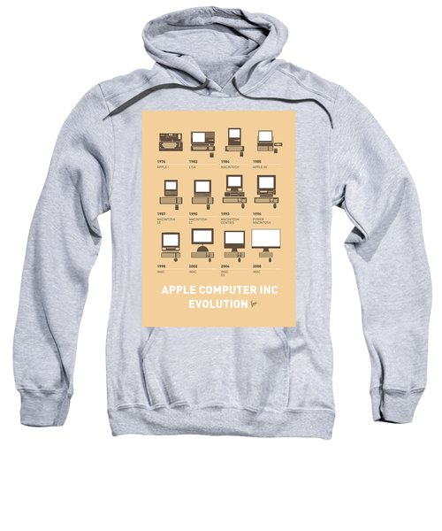 My Evolution Apple Mac Minimal Poster Sweatshirt
