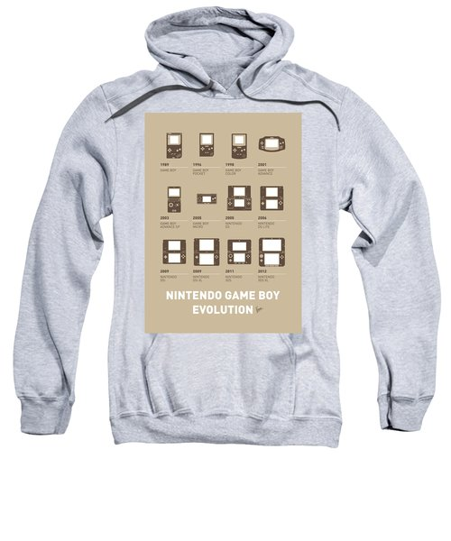 My Evolution Nintendo Game Boy Minimal Poster Sweatshirt